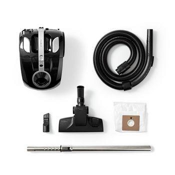Vacuum Cleaner | With Bag | 700 W | 2.0 L Dust Capacity | Black