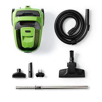 Vacuum Cleaner | Bagless | 500 W | 3.0 L Dust Capacity | Green
