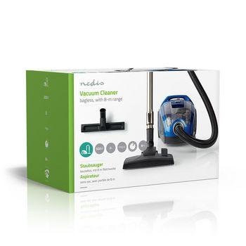 Vacuum Cleaner | Bagless | 500 W | Parquet brush | 3.0 L Dust Capacity | Blue