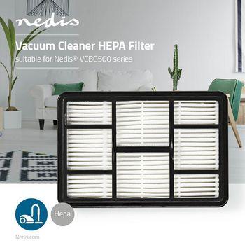 HEPA-Filter für Staubsauger | Geeignet für Nedis® VCBG500-Serie