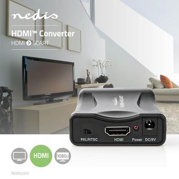 HDMI™ to SCART Converter | HDMI™ Input | SCART Output | 1-Way