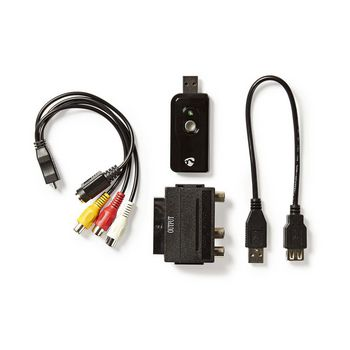 Video Grabber | A/V cable / Scart | Software Included | USB 2.0