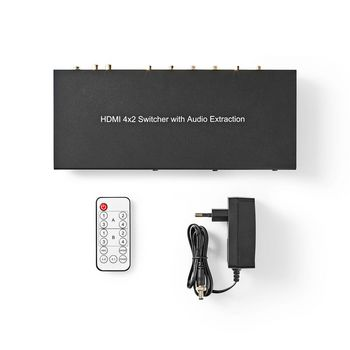 HDMI™ Matrix-Switch | 4-to-2-Poorts - 4x HDMI™-Ingang | 2x HDMI™-Uitgang | 4K@60Hz