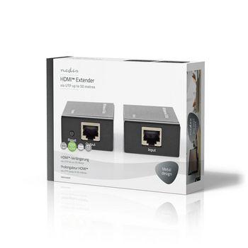 HDMI™-CAT5-Extender | 1080p | Bis zu 50,0 m - HDMI™-Eingang + RJ45-Buchse | HDMI™-Ausgang + RJ45-Buchse