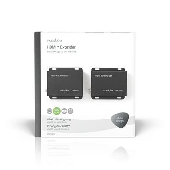 HDMI™ CAT5/6 Extender | 4K@30Hz | Up to 50.0 m | HDMI™ Input + RJ45 Female | HDMI™ Output + RJ45 Female