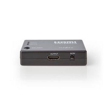 HDMI™ Switch | 3-Port | 4x HDMI™ Output | 1x HDMI™ Output | 1080p | 3.4 Gbps | ABS | Black