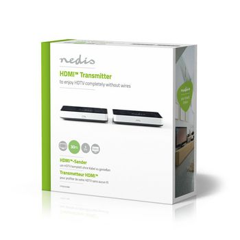 Wireless HDMI Transmitter | 1080p | 5 GHz | 30 m