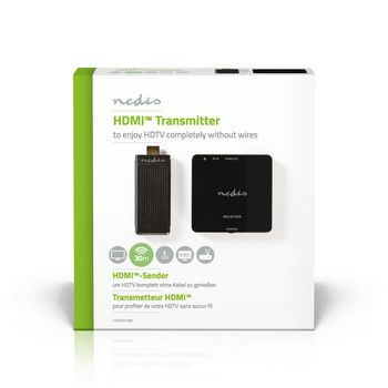 Wireless HDMI Transmitter   1080p   5 GHz   30 m   Portable Dongle
