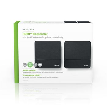 Drahtloser HDMI-Sender | 4K | 60 GHz | 10 m