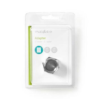 Hose Adapter   1/2'' Straight - 3/4'' Straight