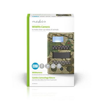 Wildlife Camera | 8 Mpixel | 100° Viewing Angle | 15m Motion Detection