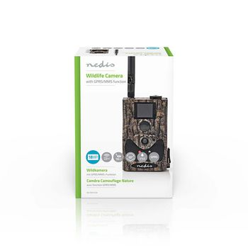 Wildlife Camera | 18 Mpixel | 60° Viewing Angle | 20m Motion Detection