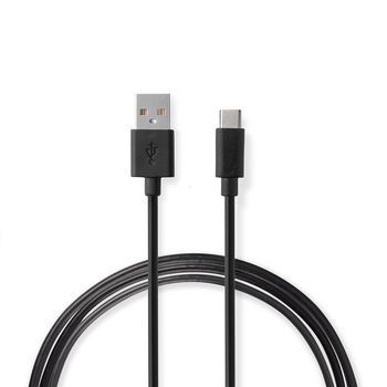 Wall Charger | 2.4 A | Loose Cable | USB-C™ | Black