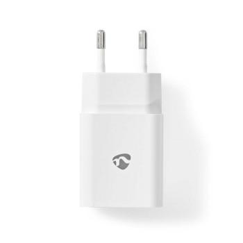 Chargeur Mural | 2,4 A | Câble Lâche | USB-C™ | Blanc