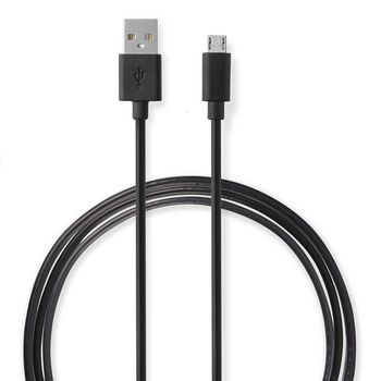 Wall Charger | 2.1 A | Loose cable | Micro USB | Black