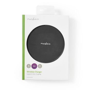 Wireless Fast Charger | Station | 10 W | Micro USB | Black