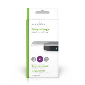 Caricabatterie Wireless   1 A   5 W   Nero