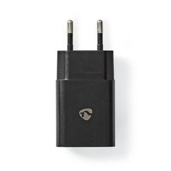 Wandlader | 2,4 A | 1 uitgang | USB-A | zwart