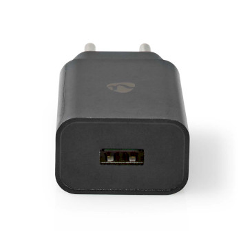 Wall Charger | 2.4 A | 1-output | USB-A | Black