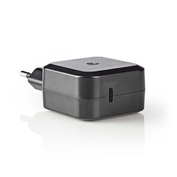 Chargeur Mural | 3.0 A | USB-C | Power Delivery 18 W | Noir