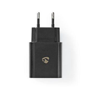 Netzladegerät | 1x 3.0 A | Anzahl der Ausgänge: 1 | Port Type: 1x USB-C™ | Kein Kabel im Lieferumfang enthalten | 18 W | automatische Spannungswahl