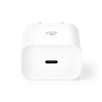 Wall Charger | 1x 3.0 A | Number of outputs: 1 | Port type: 1x USB-C™ | No Cable Included | 18 W | Automatic Voltage Selection