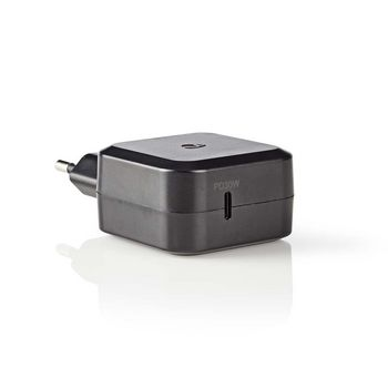 Wall Charger | 3.0 A | USB-C | Power Delivery 30 W | Black