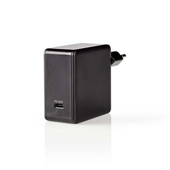 Chargeur Mural   3.0 A   USB-C   Power Delivery 60 W   Noir