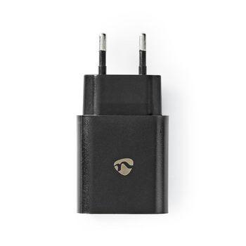 Chargeur mural | 1x 3.0 A | Nombre de sorties: 1 | Type de port: 1x USB-A | Aucun Câble inclus | 18 W | Sélection Automatique de la Tension