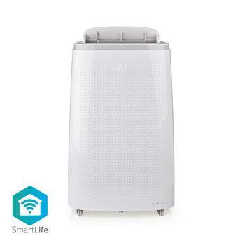 SmartLife Airconditioner | Wi-Fi | 16000 BTU | 60 - 140 m³ | Ontvochtiging | Android™ & iOS | Energieklasse: A | 3 Snelheden | 65 dB | Wit