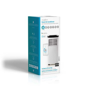 SmartLife 3-in-1 Air Conditioner | Wi-Fi | 7000 BTU | 40 - 60 m³ | Dehumidification | Android™ & iOS | Energy class: A | 2-Speed | 65 dB | White