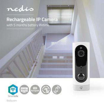 Rechargeable IP Camera | PIR Motion Sensor | MicroSD | 3000 mAh