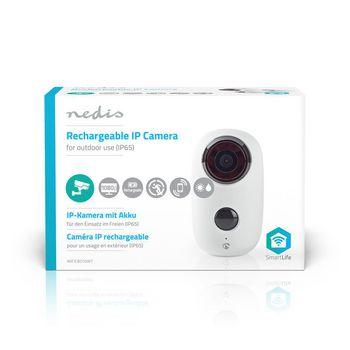 Oplaadbare IP Camera | Buiten | PIR Bewegingssensor | microSD | 6000 mAh