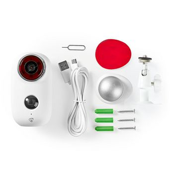 Rechargeable IP Camera | Outdoor | PIR Motion Sensor | microSD | 6000 mAh