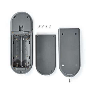 SmartLife Video Doorbell | Wi-Fi | Battery Powered | Android™ & iOS | Full HD 1080p | Cloud / microSD | IP54 | Motion sensor | Night vision | Grey/Black