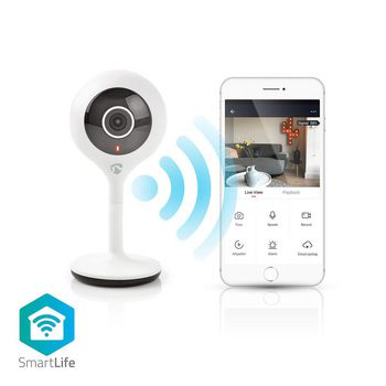 Wi-Fi Smart IP Camera | HD 720p