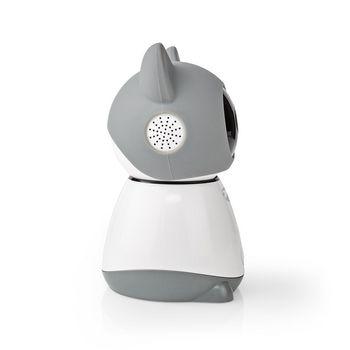 SmartLife Indoor Camera   Wi-Fi   Full HD 1080p   Pan tilt   Cloud / microSD   Motion sensor   Night vision   Android™ & iOS   Grey/White