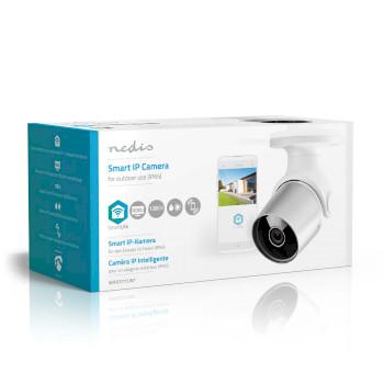 Wi-Fi smart IP-camera | voor buiten | Waterbestendig | Full HD 1080p