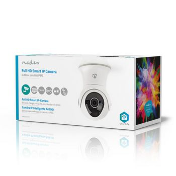 Wi-Fi Smart IP Camera | Pan/Tilt | Full HD 1080p | Outdoor | Waterproof | UK