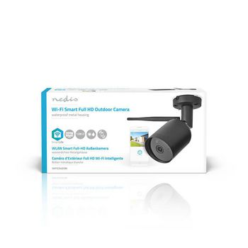 SmartLife Outdoor Camera | Wi-Fi | Full HD 1080p | IP65 | Cloud / microSD | 12 V DC | Night vision | Android™ & iOS | Black