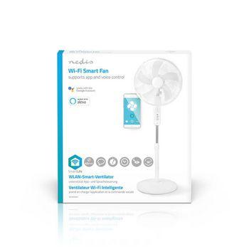 "Wi-Fi smart ventilator | Staand | 16"" | 40 cm | Wit"
