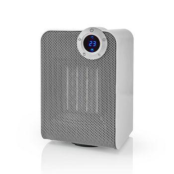 Wi-Fi Smart Fan Heater | Compact | Thermostat | Oscillation | 1800 W | White