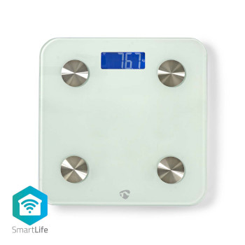 Wi-Fi Smart Personal Scales | BMI, Fat, Water, Bones, Muscle, Protein | Tempered Glass | 8 Users