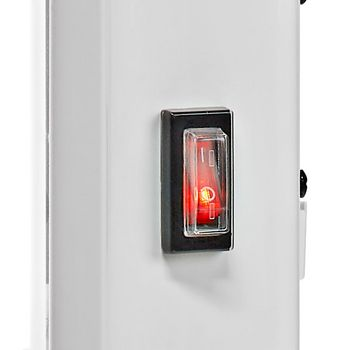 Wi-Fi Smart Convection Heater | Thermostat | Glass Front Panel | 2000 W | White