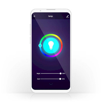 Wi-Fi Smart LED Bulb | Full-Colour and Warm White | GU10