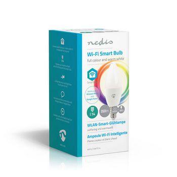 Smart LED-pære med Wi-Fi | Fuldfarve og varm hvid | E14