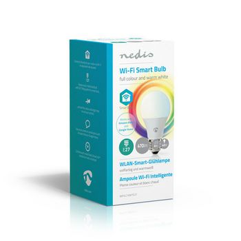 WiFi Smart LED Bulb | Full Colour and Warm White | E27