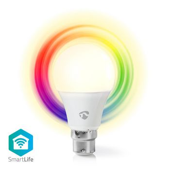 Wi-Fi Smart LED Bulb | Full Colour and Warm White | B22