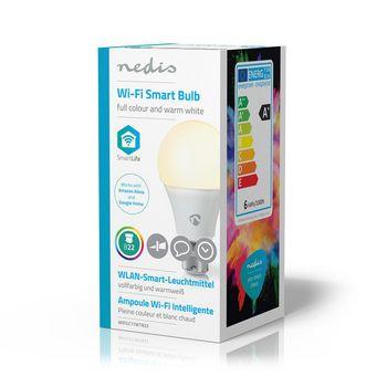 Wi-Fi Smart LED Bulb | Full Colour and Warm White | B22