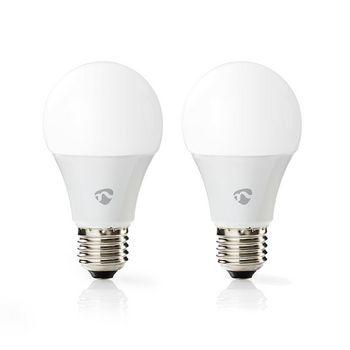 WLAN Smart LED-Lampen | Vollfarbig und warmweiß | E27 | 2er-Pack